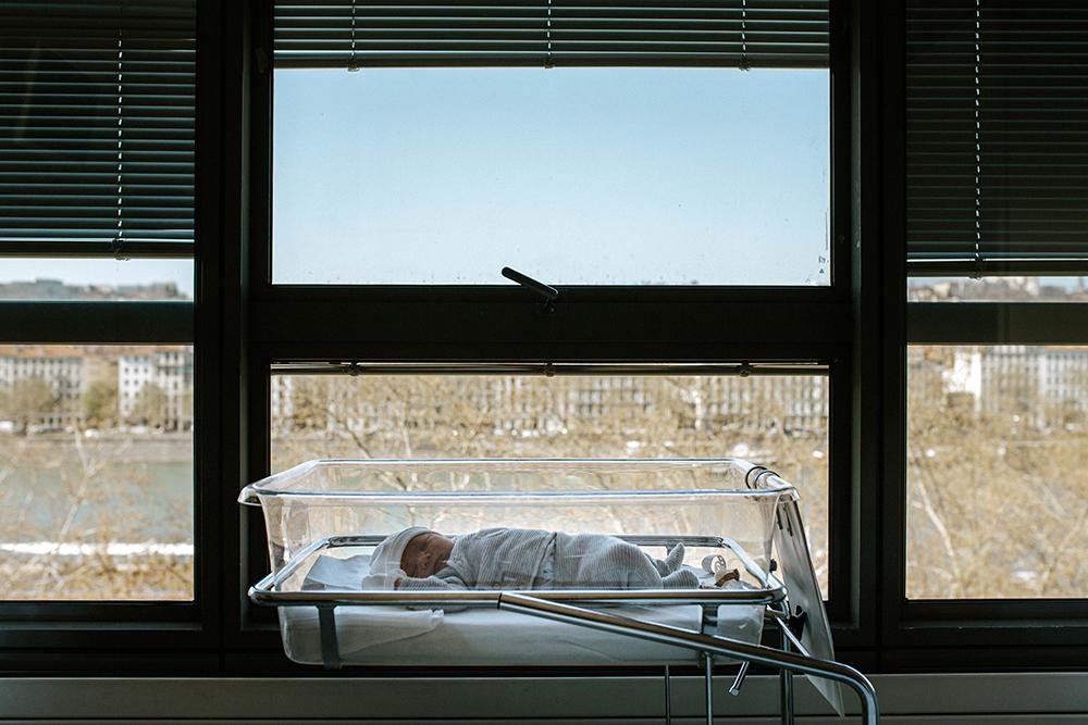 photographe, maternité, reportage, lifestyle, hôpital saint luc